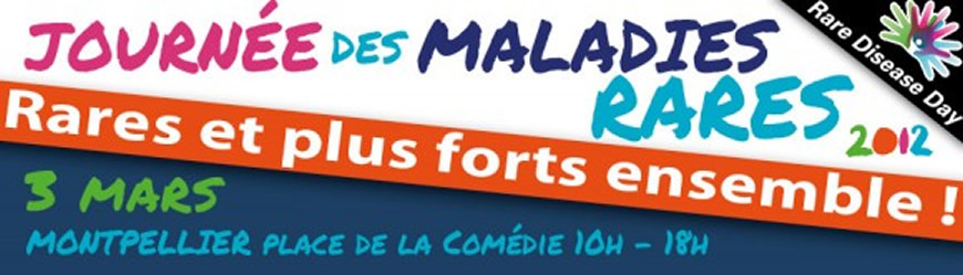 Montpellier : Journée des Maladies Rares