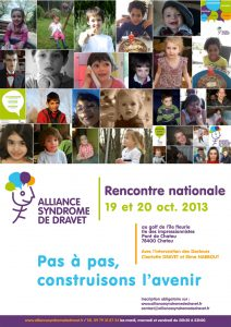 Affiche Alliance Syndrome de Dravet 2013