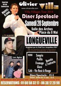 20 septembre spectacle à Longueville