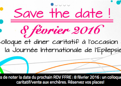 Colloque et dîner caritatif à l'occasion de la Journée Internationale de l'Epilepsie