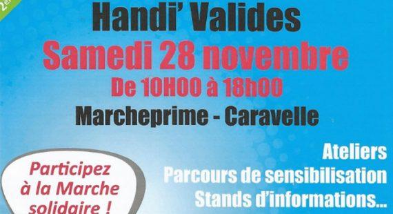 28 novembre Fête Handi Valide à Marcheprime – Gironde