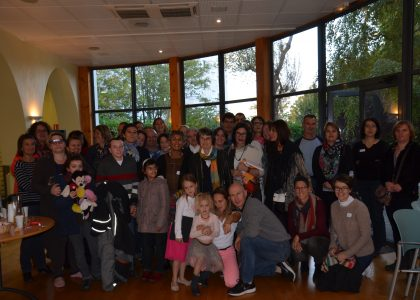 La rencontre annuelle des familles et l'Assemblée générale d'ASD à Lyon octobre 2015