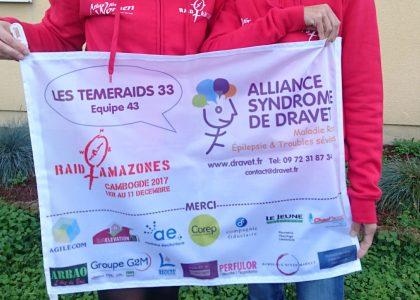 Raid Amazones du 1er au 11 décembre 2017 pour Alliance syndrome de Dravet