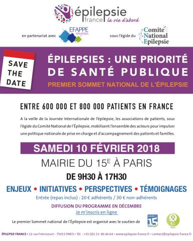 Premier Sommet National de l'Épilepsie