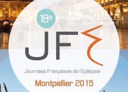18e Journées Françaises de l'Epilepsie – 3 au 6 novembre 2015 – Montpellier