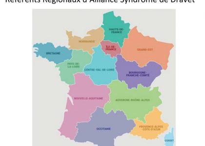 Les référents régionaux d'ASD