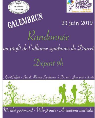23 juin 2019 à 9h – Randonnée à la campagne au profit d'Alliance Syndrome de Dravet