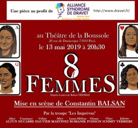 Théâtre au profit du Syndrome de Dravet Paris