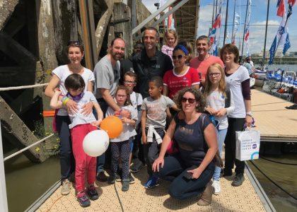 Une belle rencontre avec notre skipper de cœur Armel Le Cleac'h…