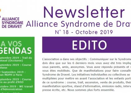 Newsletter n°18 – Octobre 2019